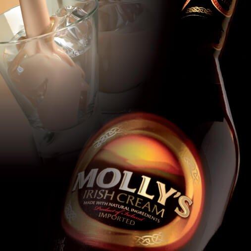 Terra, Irish Cream Liqueur Producers, Spirits and Liqueurs, Mollys Irish Cream